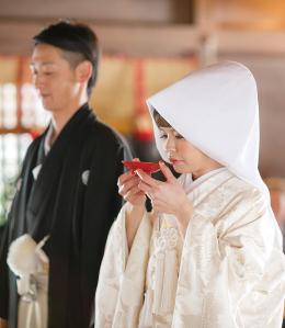 四柱神社挙式